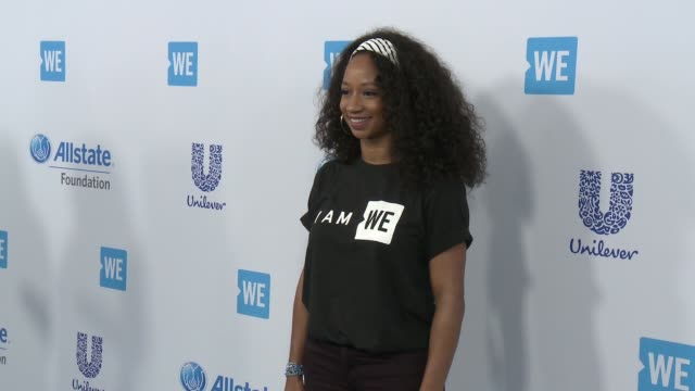 monique coleman at we day california 2017 at the forum on april 27, 2017 in inglewood, california. - monique coleman stock videos & royalty-free footage