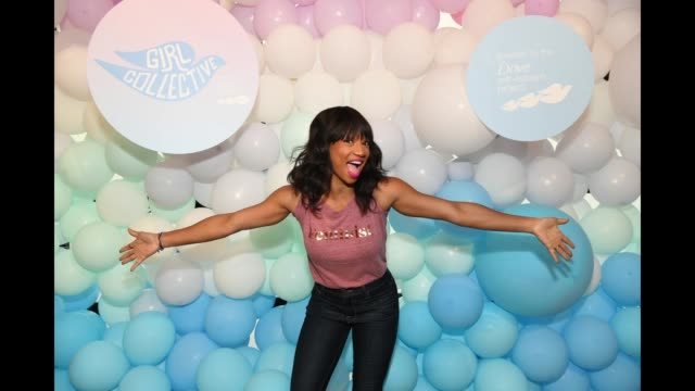 """monique coleman attends dove's launch of """"girl collective"""" - the first ever dove self-esteem project mega-event on october 6, 2018 in los angeles,... - monique coleman stock videos & royalty-free footage"""