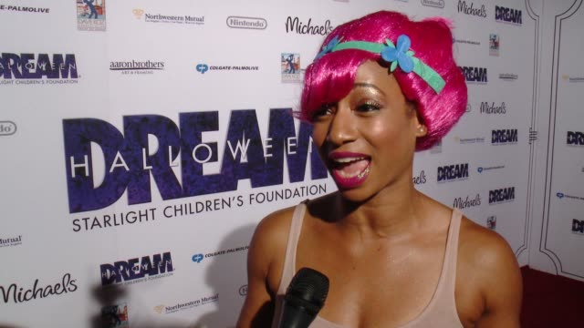 monique coleman on the event at starlight's dream halloween 2016 in los angeles, ca 10/22/16 - monique coleman stock videos & royalty-free footage