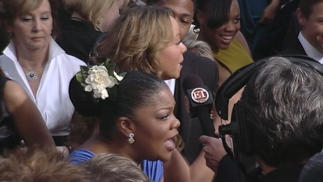Mo'Nique Mariah Carey at the 82nd Annual Academy Awards Arrivals Part 2 at Los Angeles CA