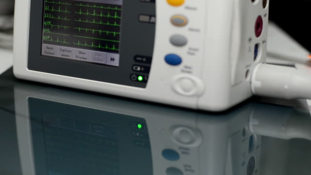 ecg monitor - pulse oxymeter stock videos and b-roll footage