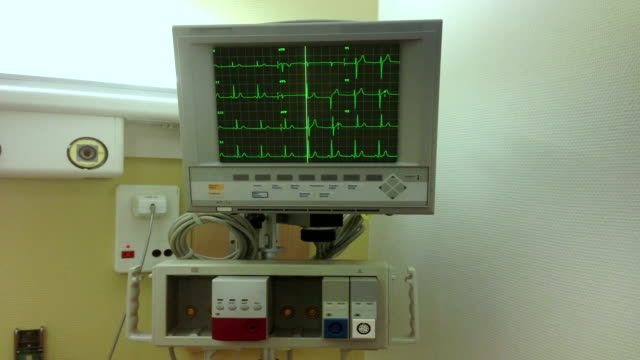 ECG  monitor with sound