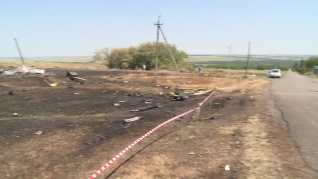 Monitors from the European security body OSCE and Malaysian inspectors on Wednesday found parts of the fuselage of the downed Malaysian flight MH17...