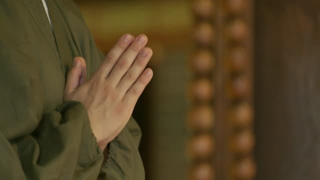 日本寺知恩院寺の僧。 - 僧点の映像素材/bロール