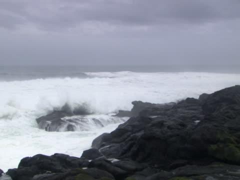 vídeos y material grabado en eventos de stock de monochromatic ocean scene - artbeats