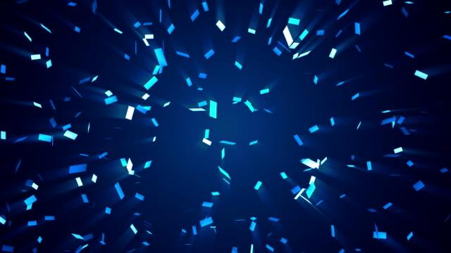 Monochrome Confetti