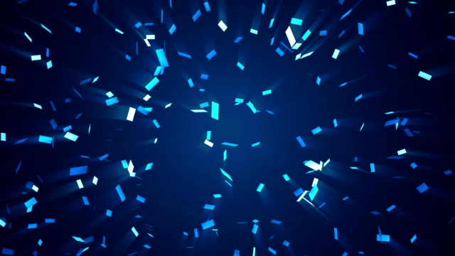 vídeos de stock, filmes e b-roll de monocromático confete - confete