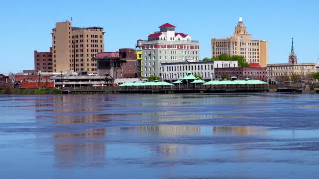 Monroe Louisiana along the banks of the Ouachita River