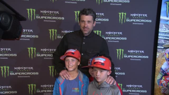monster energy supercross celebrity night at angel stadium of anaheim on january 23, 2016 in anaheim, california. - angel stadium stock videos & royalty-free footage