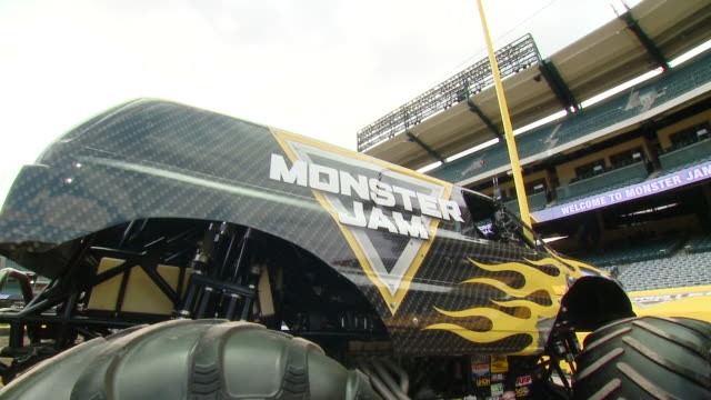 monster jam celebrity event at angel stadium on february 23, 2020 in anaheim, california. - angel stadium stock videos & royalty-free footage
