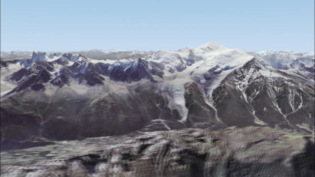 mont blanc massif - alpen stock-videos und b-roll-filmmaterial