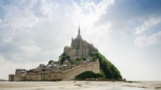 Mont Saint Michel time-lapse