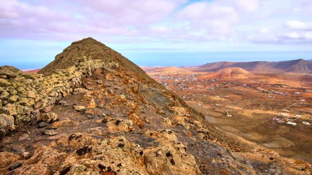Montaña del Aceitunal views over Tetir Village - Fuerteventura