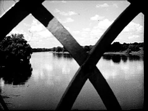vídeos y material grabado en eventos de stock de 1947 - montage of illinois - río misisipí