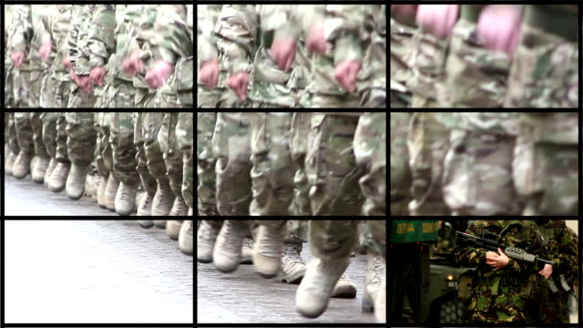 Montage of Military, Army & Soldier clips