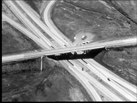 Montage, shots of highways.