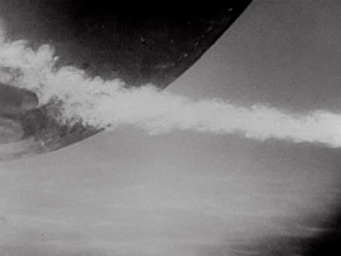 montage shows the launching of a torpedo and the sinking of a ship. - torpedo stock videos & royalty-free footage