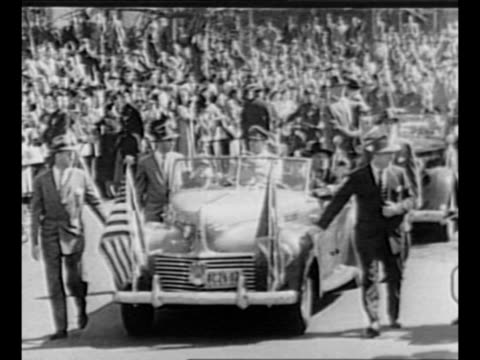 montage ticker tape parade for us general douglas macarthur in new york city / night montage jean macarthur macarthur and son arthur deplane in... - general macarthur stock videos and b-roll footage