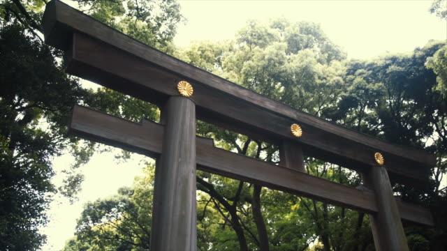 Montage - Torii GAte in Yoyogi park