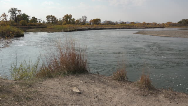 Montana rivers join to form the Missouri at Three Forks