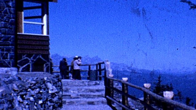 1962 montana tramway - 路面軌道点の映像素材/bロール