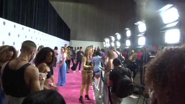 montana tucker at beautycon at los angeles convention center in los angeles in celebrity sightings in los angeles, - tucker stock videos & royalty-free footage