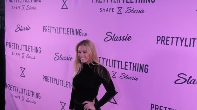 montana tucker at the prettylittlething campaign launch for plt shape with brand ambassador anastasia karanikolaou on april 11, 2017 in los angeles,... - tucker stock videos & royalty-free footage