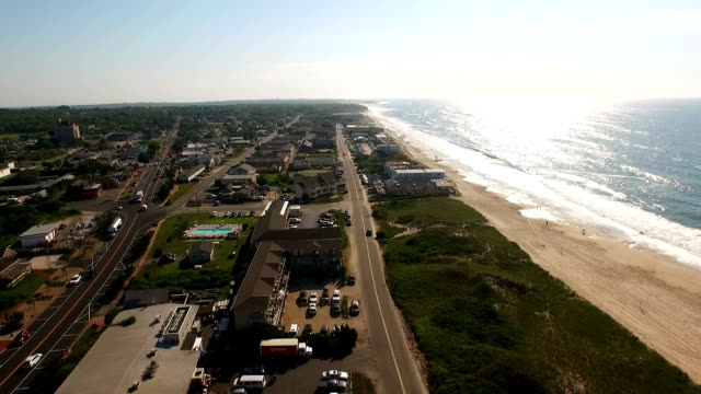 montauk highway 2 - long island video stock e b–roll