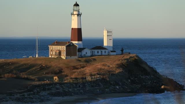 モントーク岬光 - イングランド サウサンプトン点の映像素材/bロール