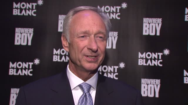 Montblanc CEO Lutz Bethge on the significance of New York and what else is planned for this global launch at the Global Launch Of The Montblanc John...