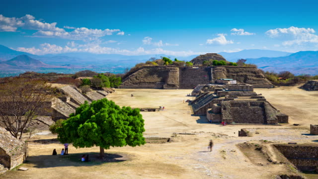 TIME LAPSE: Monte Alban Ruins, Mexico