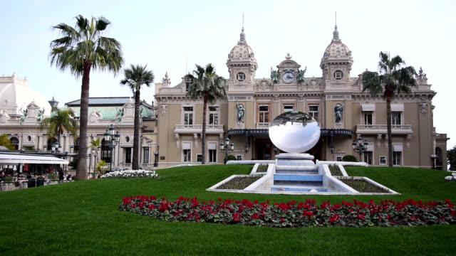 monte carlo casino - casino stock videos & royalty-free footage