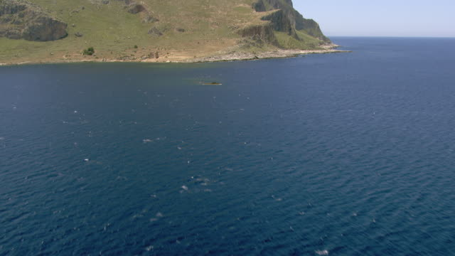 monte cofano - 地中海点の映像素材/bロール