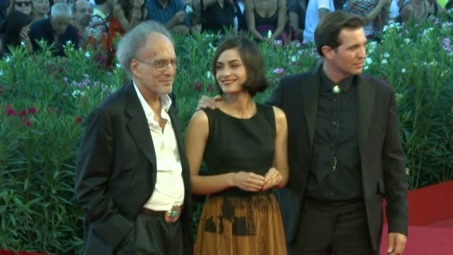 monte hellman, actress shannyn sossamon and tygh runyan at the the tempest premiere/closing night red carpet: 67th venice film festival at venice . - shannyn sossamon stock videos & royalty-free footage