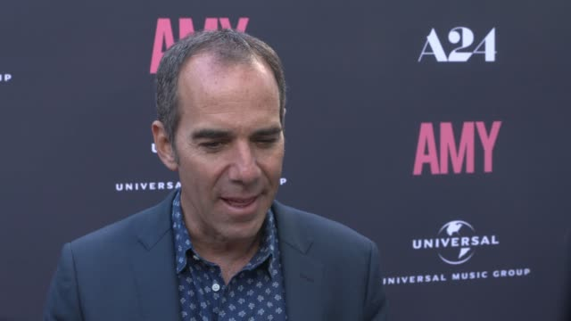 INTERVIEW Monte Lipman on Amy Winehouse and what this movie does for fans at The US Premiere Of AMY Presented By Chairman CEO Of Universal Music...