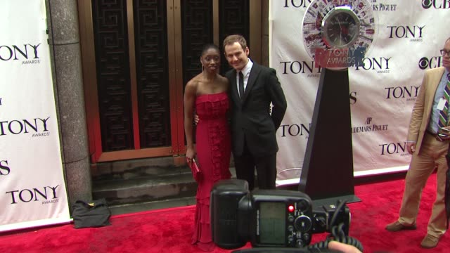 Montego Glover and Chad Kimball at the 64th Annual Tony Awards at New York NY