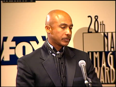 montel williams at the naacp 28th annual image awards on february 8 1997 - naacp stock videos & royalty-free footage