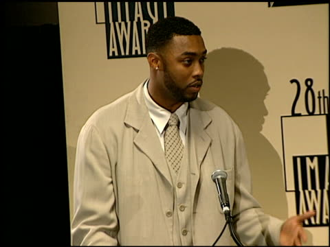 montell jordan at the naacp 28th annual image awards on february 8, 1997. - naacp stock videos & royalty-free footage