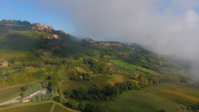 montepulciano, tuscany, italy - montepulciano stock videos & royalty-free footage