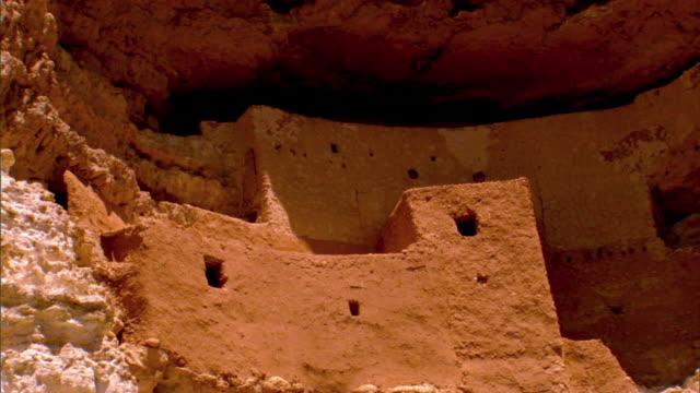 ZO Montezuma Castle National Monument pre historic cliff dwelling / Camp Verde, Arizona, USA