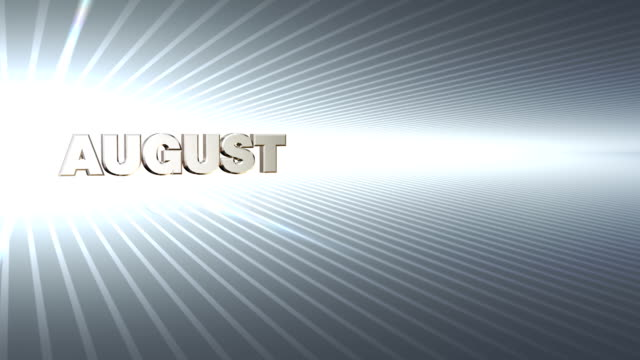 months july-december zoom silver - month stock videos & royalty-free footage