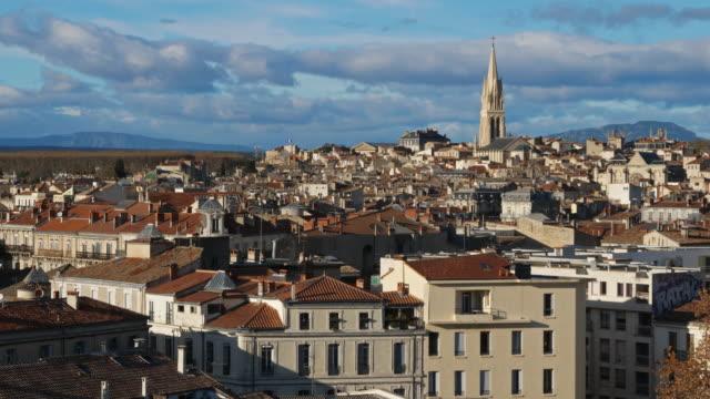 montpellier, occitanie, france - モンペリエ点の映像素材/bロール