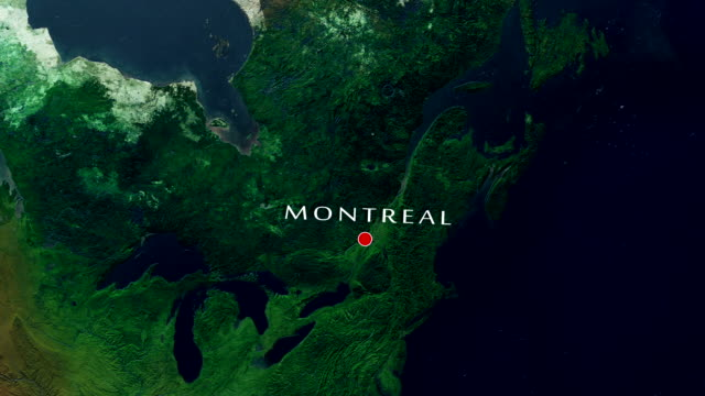 montreal 4k  zoom in - montreal video stock e b–roll