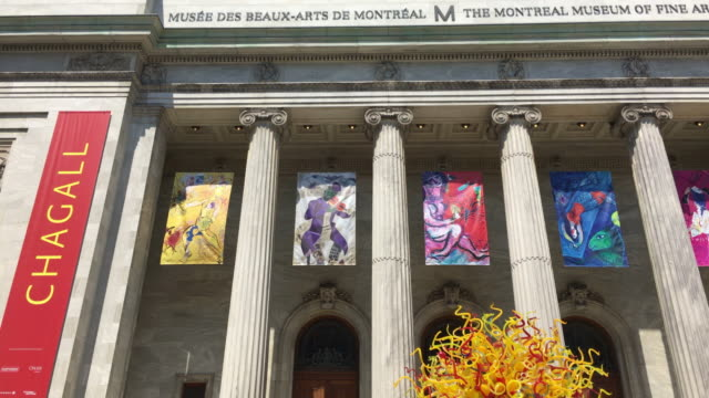 Montreal, Canada: Fine Art Museum facade or building exterior in daytime