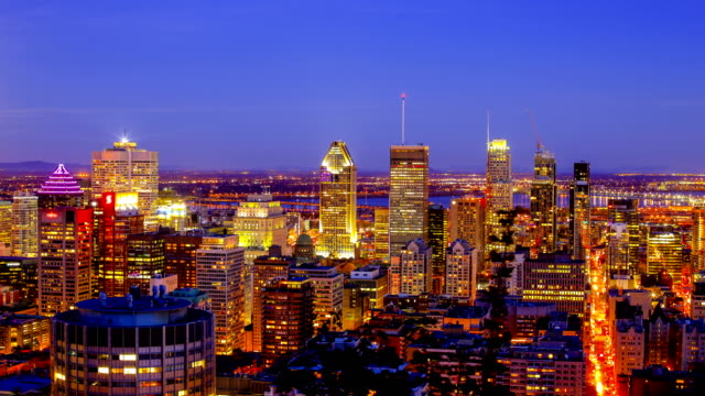montreal, qc - montreal video stock e b–roll