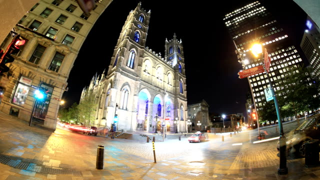 montreal time-lapse - montreal stock videos and b-roll footage