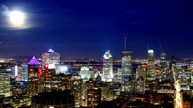 montreal time-lapse - montréal stock videos & royalty-free footage