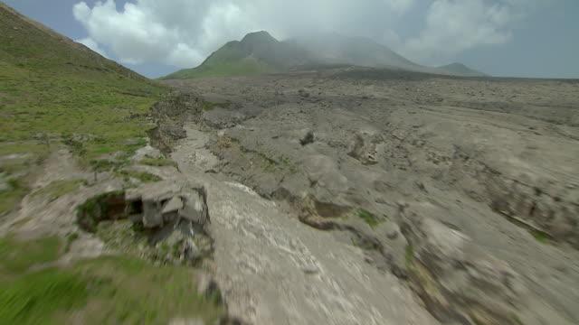 Montserrat Pyro Flow And Volcano