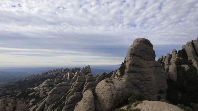 モントセラト時間経過ビデオ - モングロスからの眺め - roca点の映像素材/bロール