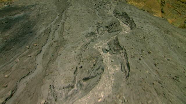 montserrat volcano and pyroclastic flow - pyroklastischer strom stock-videos und b-roll-filmmaterial